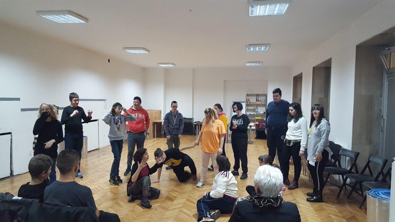 Muzičko-dramske radionice održane 04. i 05. 12. 2019.
