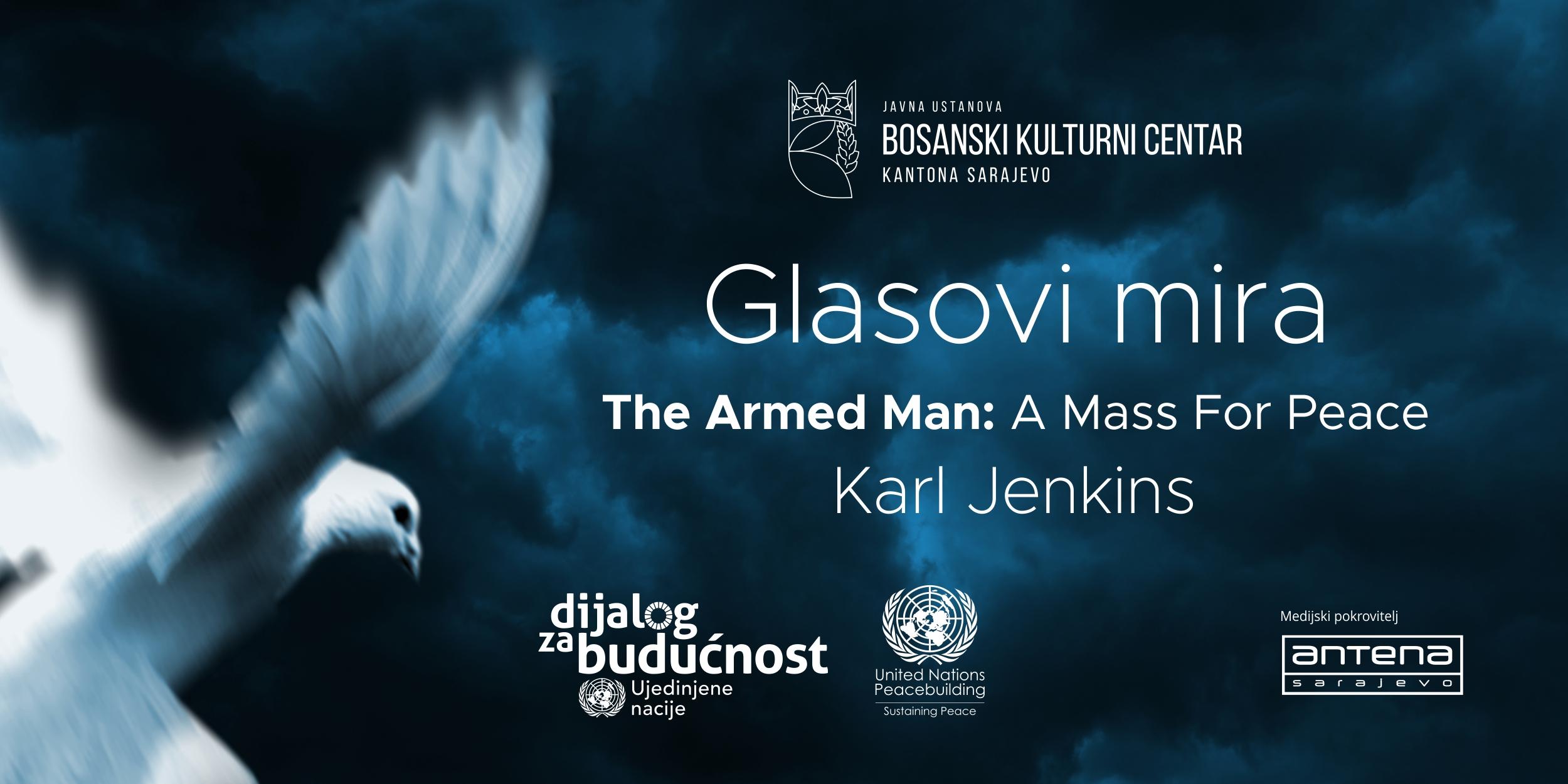 Javni poziv na audiciju za ''Omladinski hor'' muzičko – dramskog  projekt ''Glasovi mira''