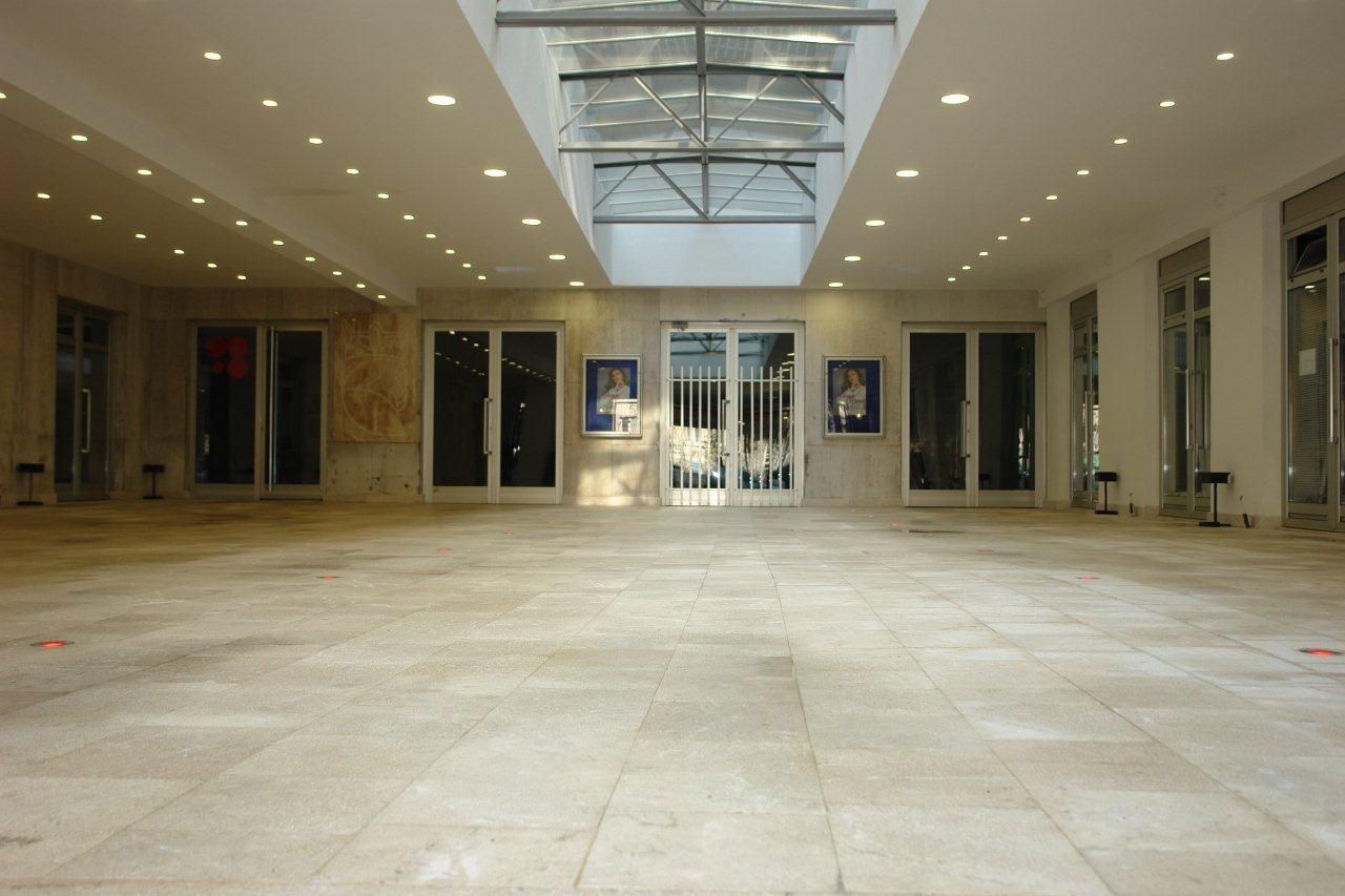 Okončani su radovi kompletne sanacije ulaznog atrija JU Bosanski kulturni centar Kantona Sarajevo