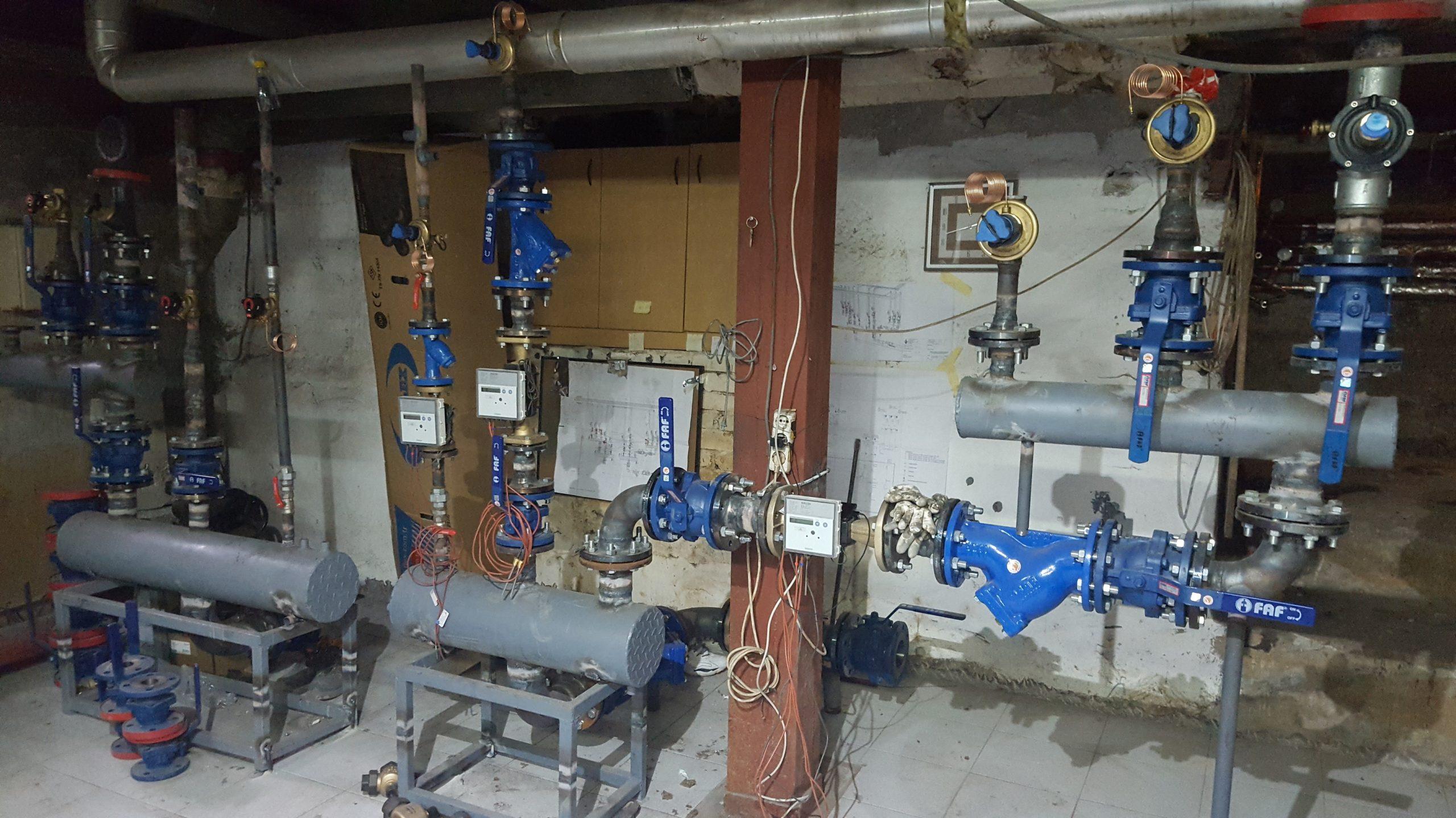 U JU BKC KS u toku radovi na obnovi sistema centralnog grijanja te priključenja na sistem daljinskog grijanja sa ciljem povećanja energijske efikasnosti