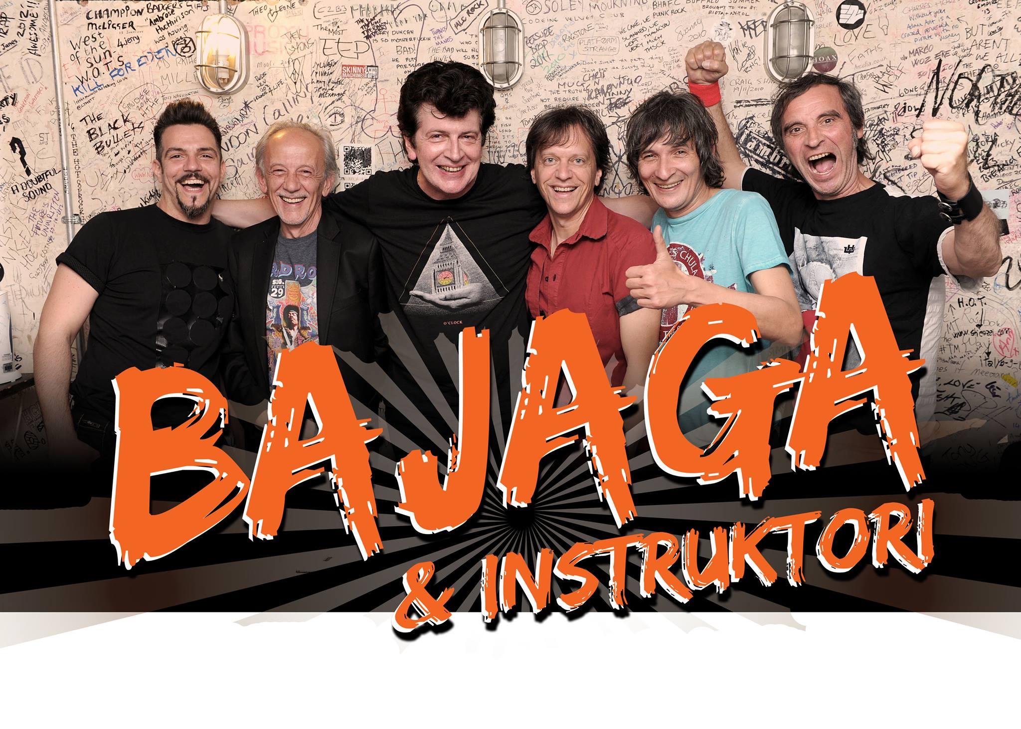 Najava za koncert Bajage & Instruktora