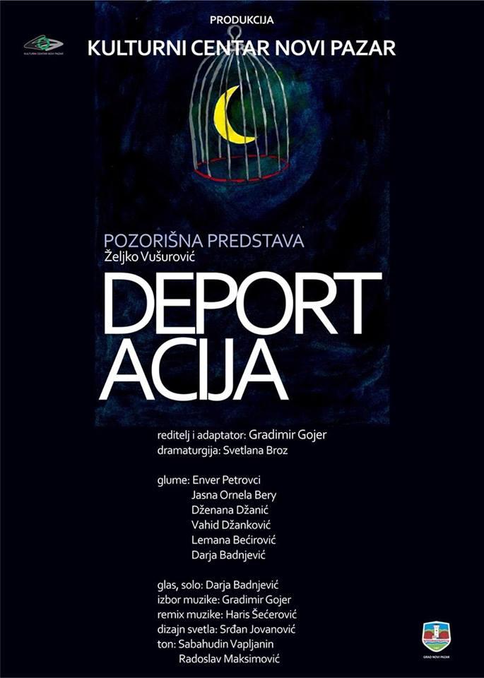 "Pozorišna predstava ""Deportacija"""