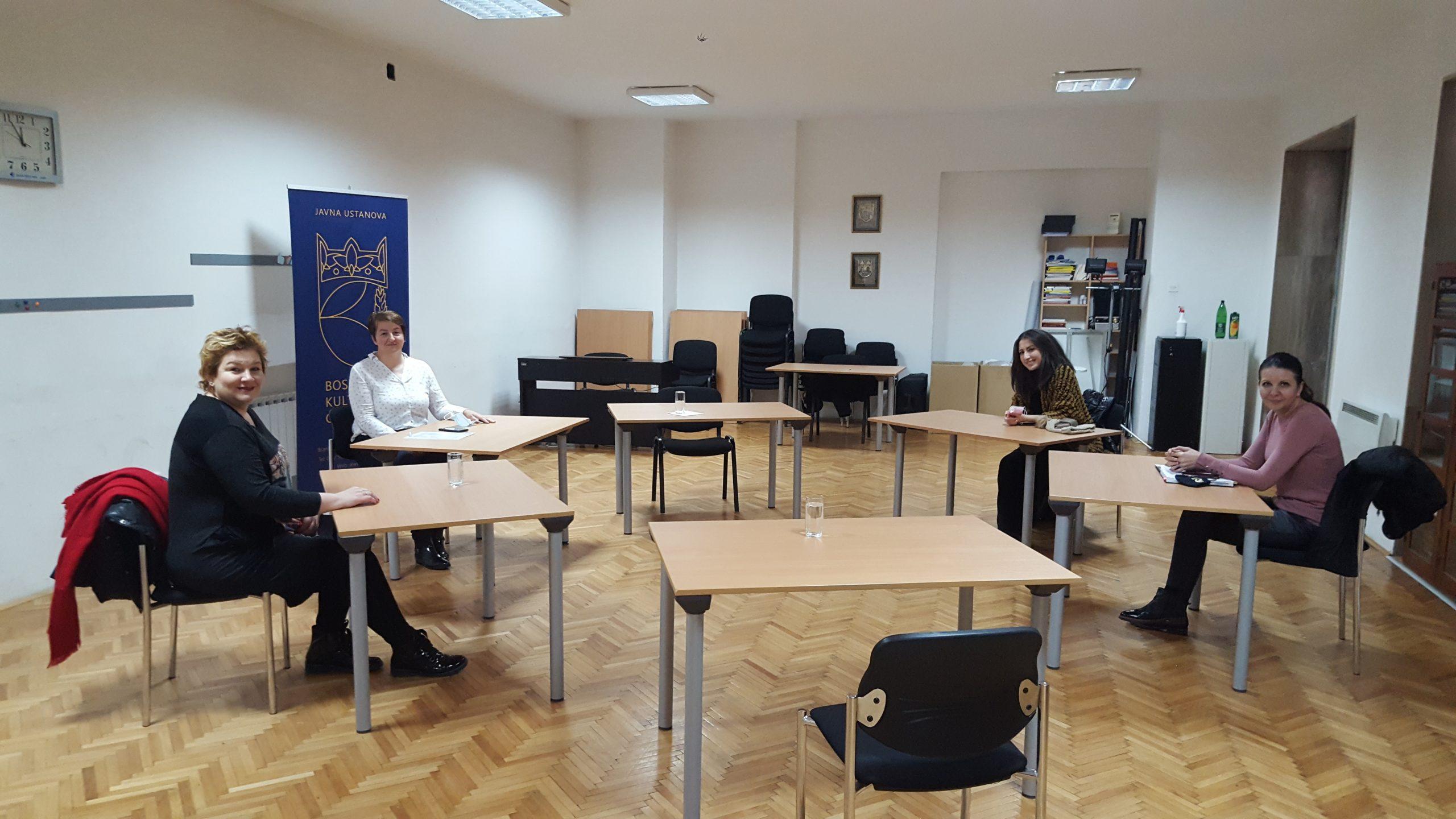 """Realizacijski timovi iz Podgorice i Sarajeva, sastali se u Sarajevu u cilju finalizacije dogovora oko završnih priprema za projekat """"Glasovi mira"""""""